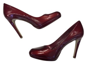 BCBGeneration Patent Leather Red Pumps