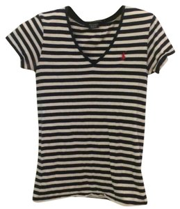 Polo Ralph Lauren T Shirt Navy blue, white, and red