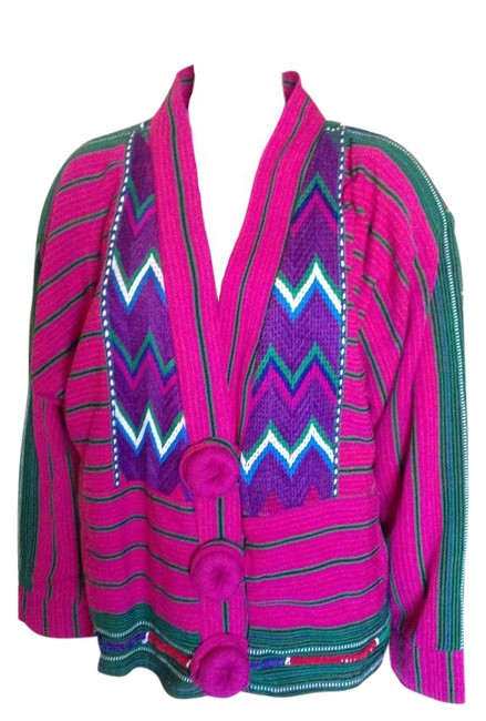 Preload https://item4.tradesy.com/images/pink-vintage-hand-woven-guatemalan-size-10-m-20168728-0-1.jpg?width=400&height=650