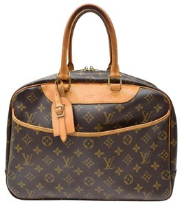Louis Vuitton Deauville Deauville Gm L V Hand Tote in Brown