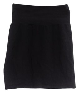 Aritzia Tube Mini Skirt black