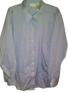 Liz Claiborne Button Down Shirt Blue