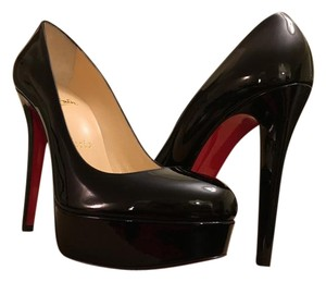Christian Louboutin Black patent calf Platforms