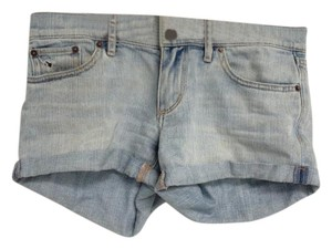 Aritzia Mini/Short Shorts light wash