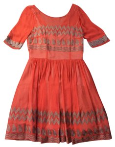 Tracy Reese short dress Orange on Tradesy