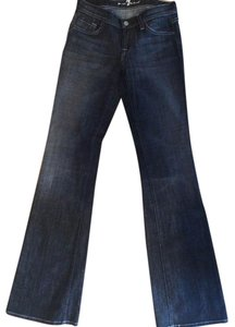 7 For All Mankind Boot Cut Pants Grey/Black Denim