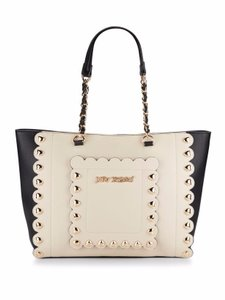 Betsey Johnson Designer Tote in Cream