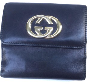 Gucci Black, Leather, Wallet