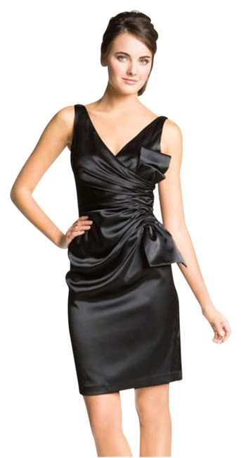 Preload https://item3.tradesy.com/images/maggy-london-black-bow-stretch-satin-sheath-above-knee-cocktail-dress-size-4-s-201692-0-0.jpg?width=400&height=650