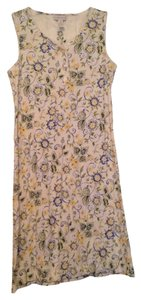 Charter Club Pajamas short dress Floral: Blue, Yellow, Green, And White. Nightgown Pajama Floral on Tradesy
