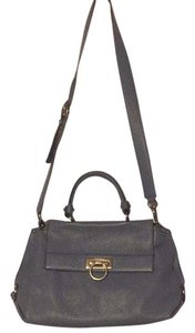 Salvatore Ferragamo Satchel in Light Blue