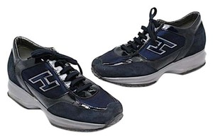 Hogan Navy Patent Athletic