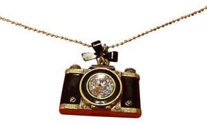 Betsey Johnson Betsey Johnson camera necklace