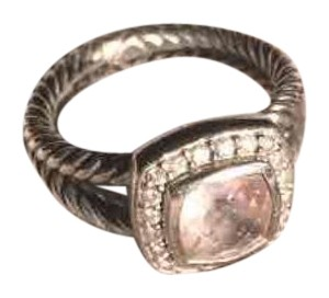 David Yurman Morganite albion ring