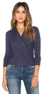 Velvet by Graham & Spencer Adora Top Navy