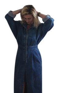Denim Maxi Dress by Other One Of A Kind