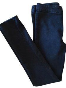 J Brand Cotton Fitted Soft Skinny Jeans-Dark Rinse