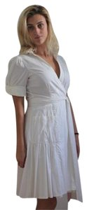 White Maxi Dress by Diane von Furstenberg Wrap Summer