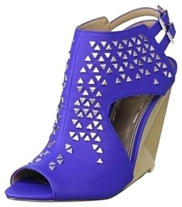 Rachel Roy Blue Wedges