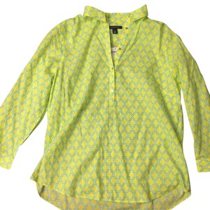 ec593972 Green Lands' End Button-Downs - Up to 70% off a Tradesy