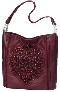 Brighton Satchel in Sangria