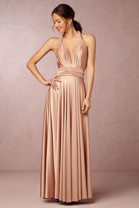 Twobirds Rosewater Twobirds Convertible Bridesmaid Dress In Rose Water (a) Dress