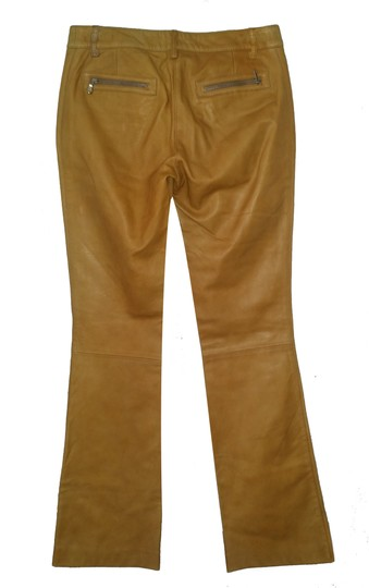 Dolce&Gabbana Dolce & Gabbana Leather Cargo Boot Cut Pants durable modeling