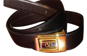 Valentino Valentino leather belt