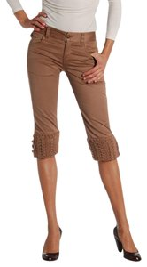 Ermanno Scervino Capris Brown