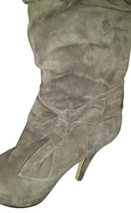 Circa Joan & David Suede Knee High Grey Boots