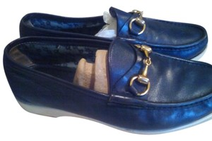 Gucci Loafers Bags Vintage blue Flats