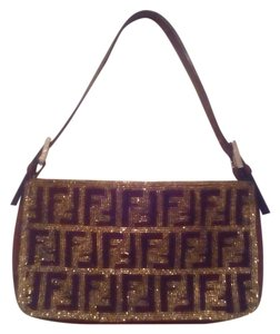 Fendi Designer Logo Shoulder Bag