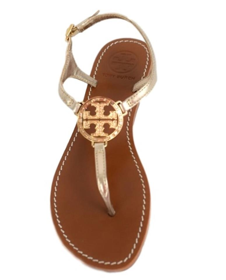 b4a44e1f738a Tory Burch Rose Gold New Violet Thong - Metallic Mestico Sandals ...