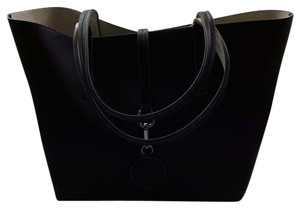 Rosemunde Tote in Black/sand