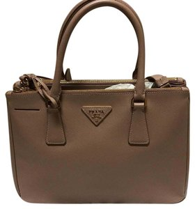 Prada Satchel in Nude Pink