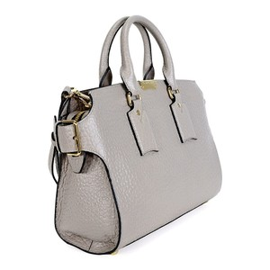 Burberry Satchel in Pale Grey