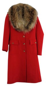 Michael Kors Couture Wool Italian Trench Coat