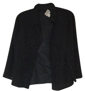 JKara Black Sequined Blazer
