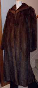 New York & Company Fur Coat
