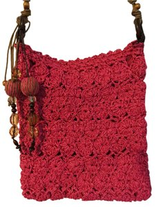 Capelli New York Crochet Hobo Bag