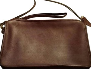 Coach Vintage Leather Hippe Mod Classic Cross Body Bag