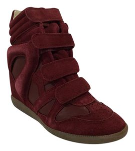 Isabel Marant Sneaker Wedge Burgundy Athletic