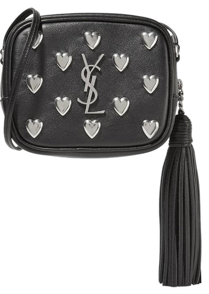 6715165e5787 Saint Laurent Monogram Blogger Black Leather Cross Body Bag - Tradesy