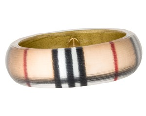 Burberry Lucite Burberry Nova Check print bangle