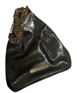 Ivanka Trump Grey/Gold Clutch