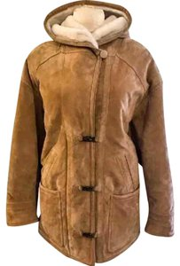Gallery Shell: Tan, Lining: Cream Leather Jacket