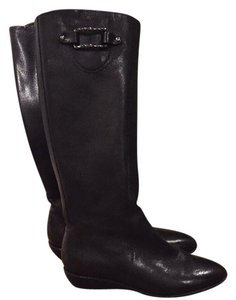 Cole Haan & Nike Air Black leather Boots