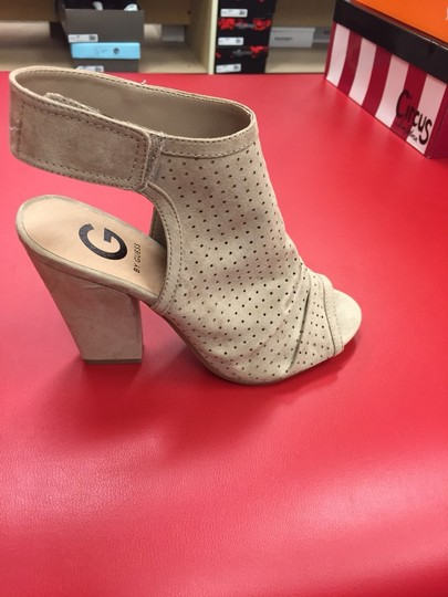 Guess Beige Wedges