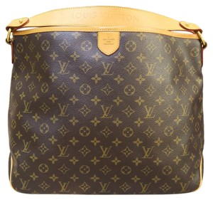 Louis Vuitton Lv Delightful Mm Canvas Shoulder Bag
