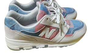 New Balance red blue Athletic